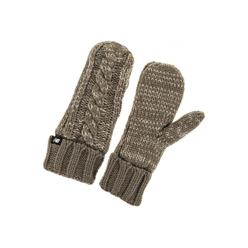 NEW BALANCE WINTER MITTENS BRĄZOWE 500204-036