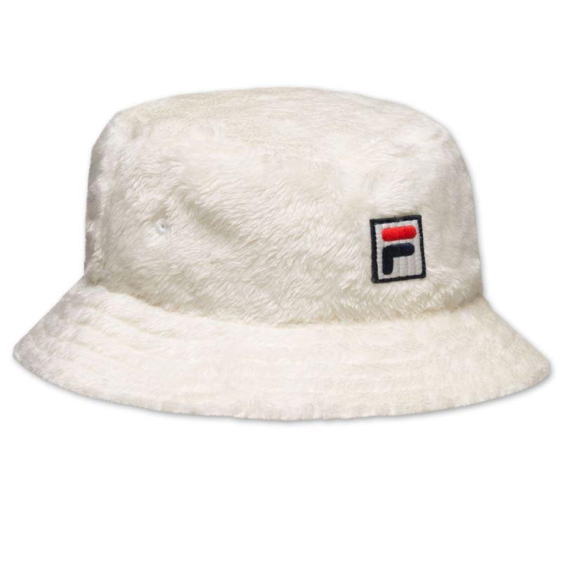 Fila FUR BUCKET HAT with F-box logo 686110-F50