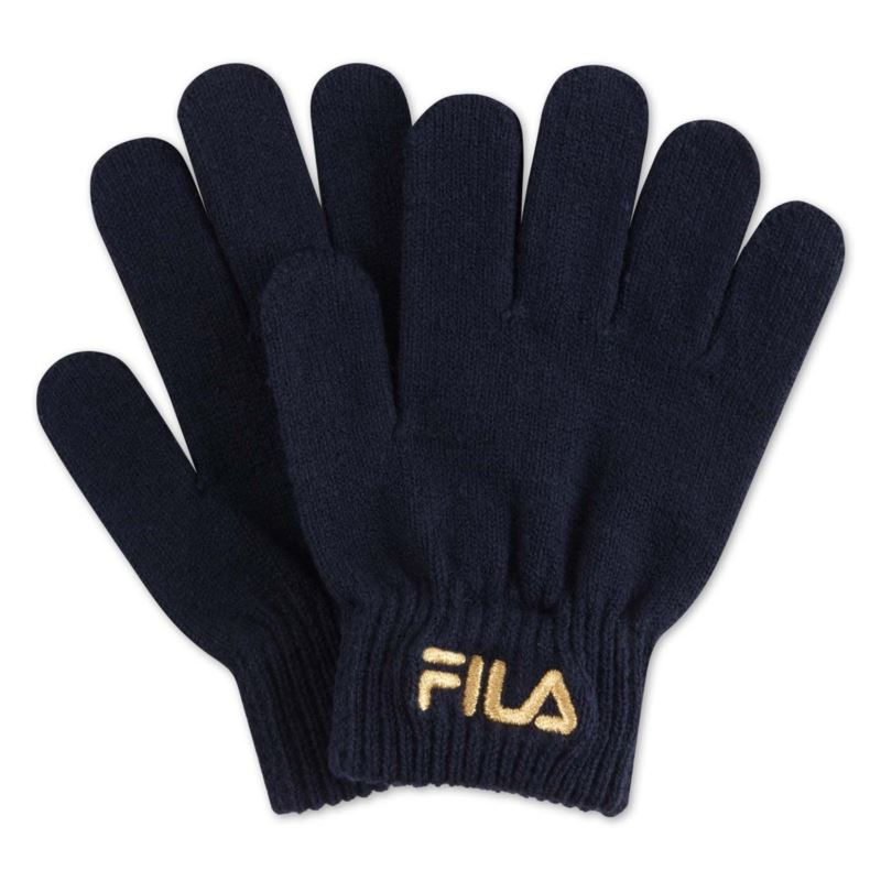 Fila KIDS KNITTED GLOVES with embro logo 686202-17