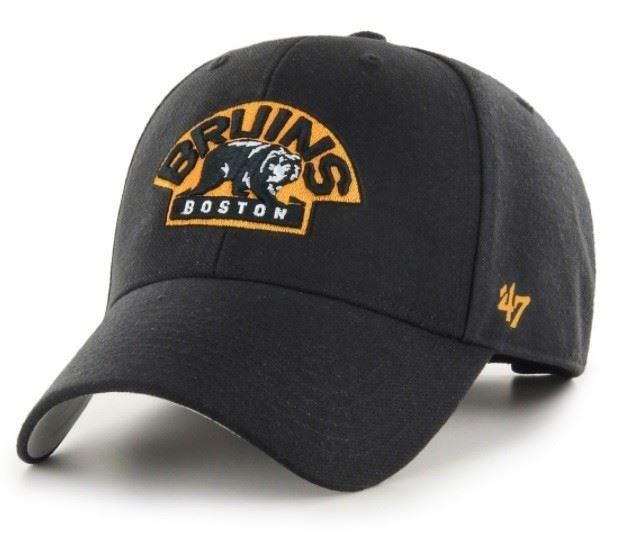 47 brand NHL Boston Bruins H-MVP01WBV-BKE
