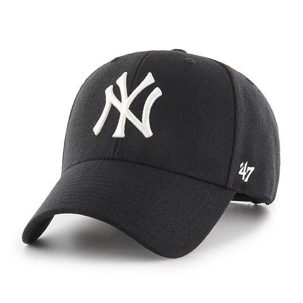 47 Brand MLB New York Yankees B-MVPSP17WBP-BK
