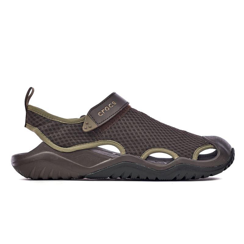 Crocs Swiftwater Mesh Deck Sandal Men's 205289-206
